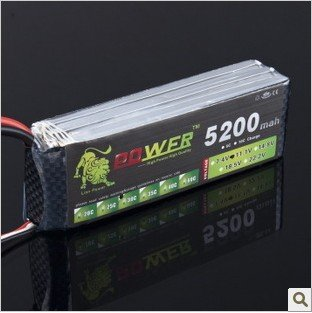 Lion Power 11.1V 5200MAH 30C  MAX 35C AKKU LiPo RC Battery For Rc Helicopter 3S+free shipping