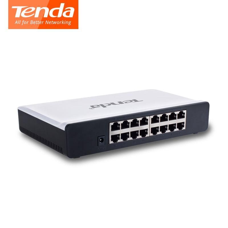 Tenda S16 16 Ports 10/100M Network Switchs 3.2Gbps Switching Capacity Fast Switch