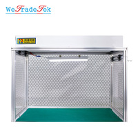 Newest Dust Free Room Desk Cleaning Room Anti static Aluminum Alloy Dust Free Bench for LCD Refurbishment Phone Repair Equipment
