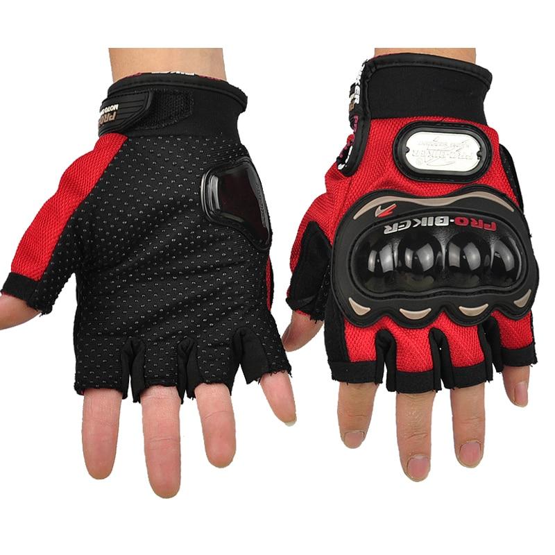 Free Shipping PRO BIKER motorcycle gloves half finger