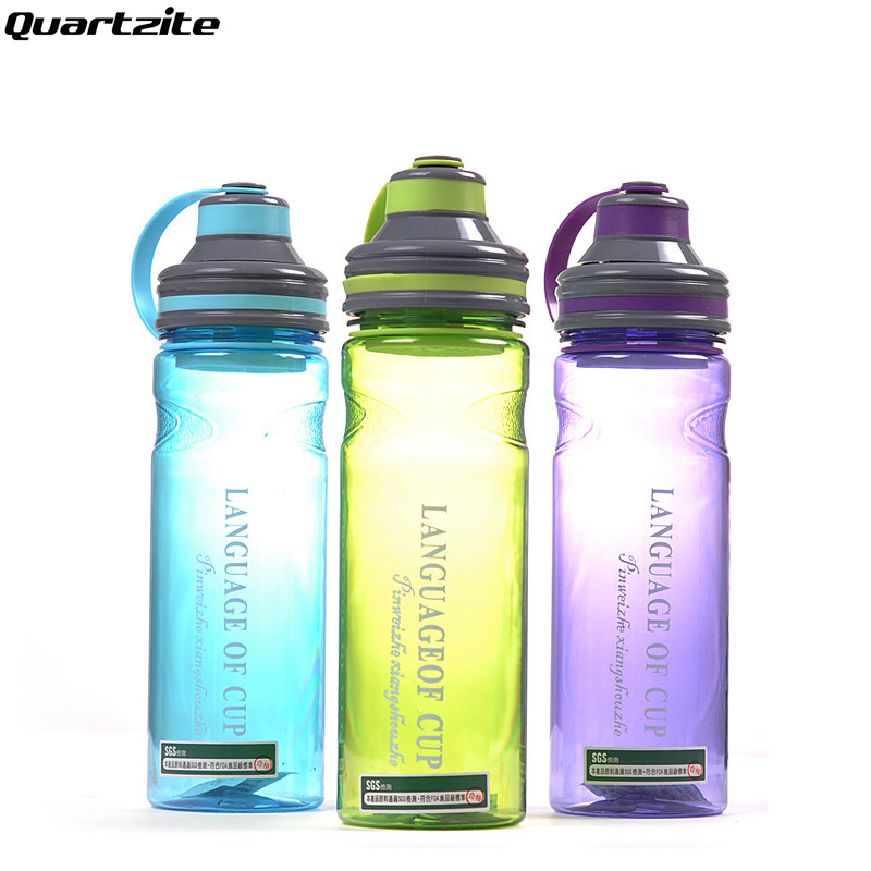 High quality Creative 3 color 600ml/800ml/1000ml my portable space water bottles with tea infuser Large Capacity sports bottle