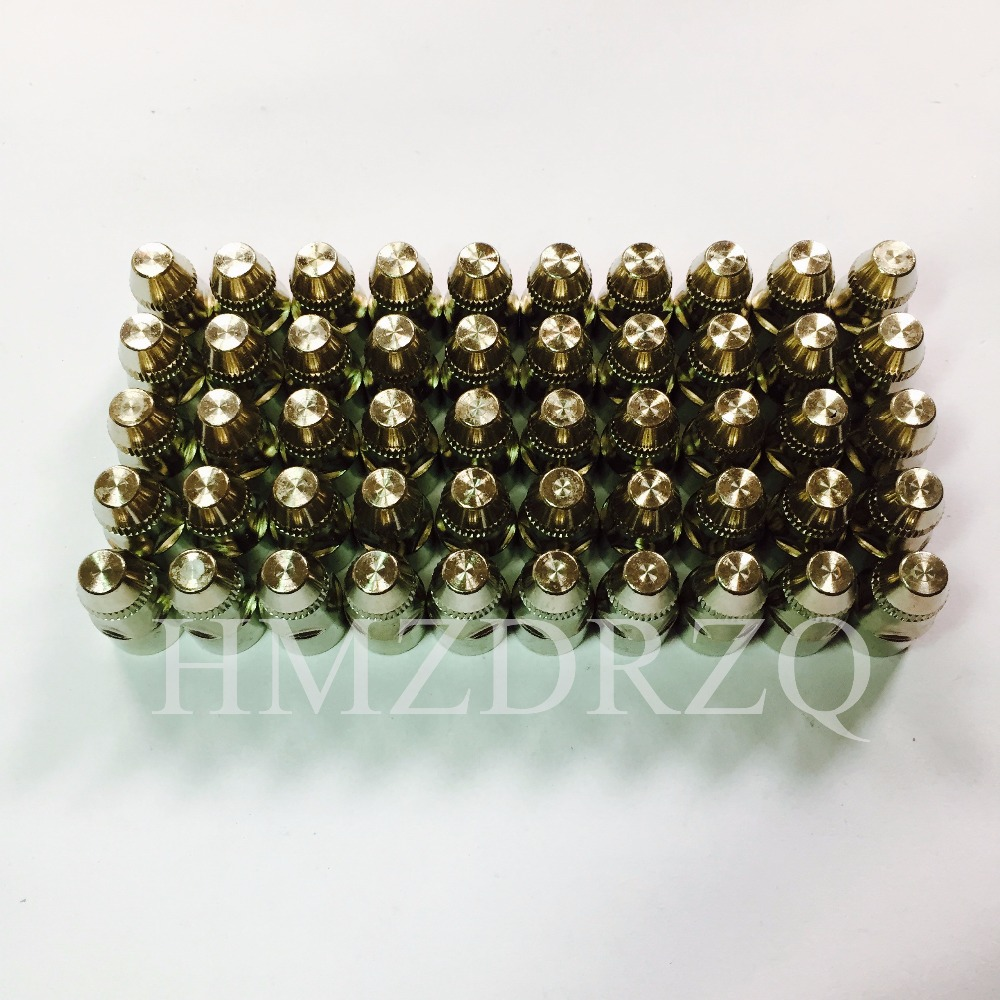 50pcs CUT80 LG80 80A inverter plasma cutter P80 cutting gun consumables or accessories Electrodes 100pcs cut80 lg80 80a inverter plasma cutter p80 cutting gun consumables or accessories electrodes tips