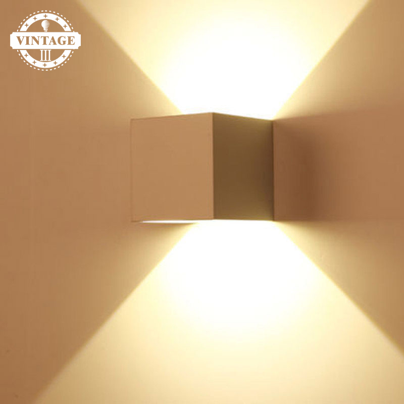 Back To Search Resultslights & Lighting Vintageiii Waterproof Cube Cob Led Light Wall Lamp Modern Home Lighting Decoration Outdoor Wall Lamp Aluminum 7w Ac 220v