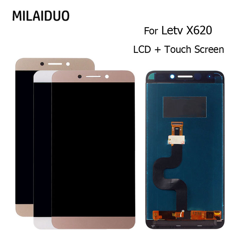 5.5'' IPS Display For LeTV Leeco Le 2 LCD Display Touch Screen Digitizer Le X527 X520 X522 X620 Leeco Le S3 X626 LCD Replacement
