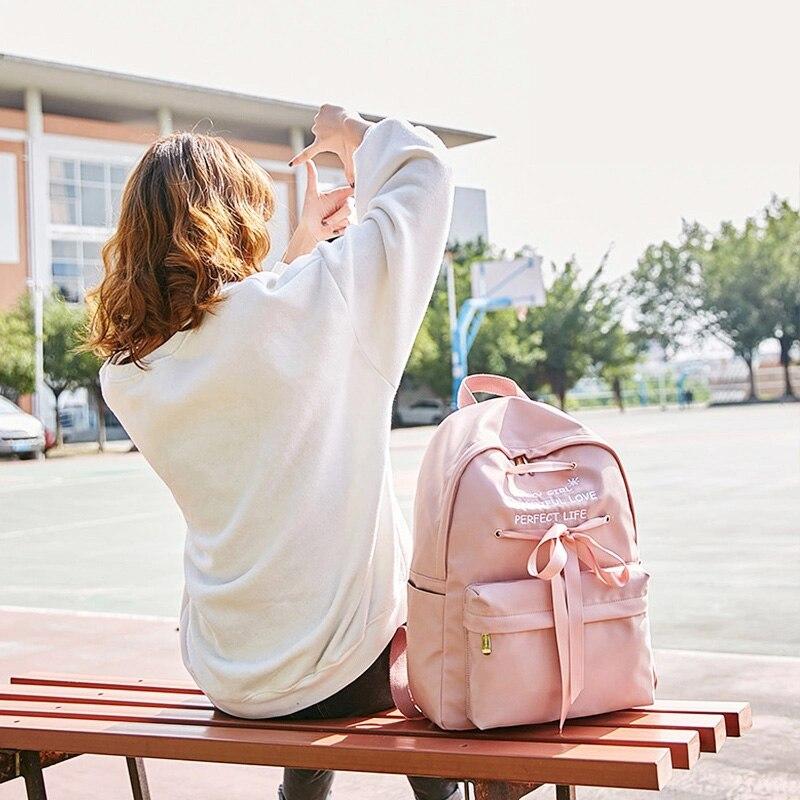 a9ce6ff222 waterproof laptop backpack women cute women s backpacks for school satchel  for teenagers girl backpack teen schoolbag bag female - aliexpress.com -  imall. ...
