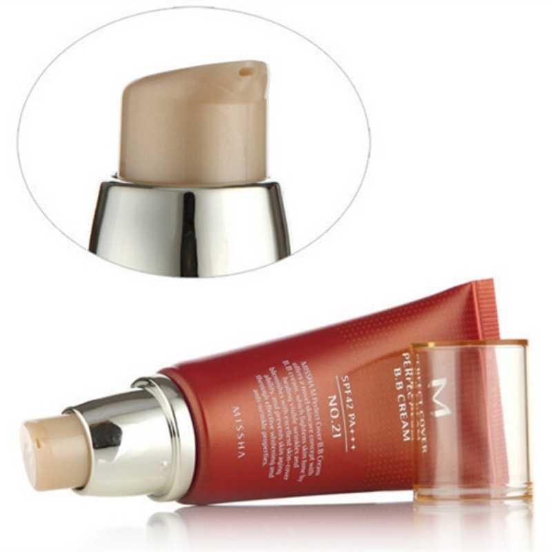 Perfetta Copertura BB Cream Pa + + + 50Ml Corea Cosmetici di Trucco di Base CC Creme Sbiancamento Auto Tanner Viso Crema di Lumaca
