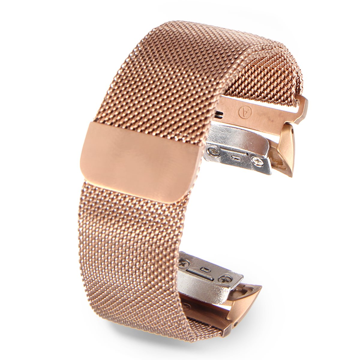 Magnetic Closure Milanese Loop Watchband Stainless Steel Classic Replacement Wrist Strap For/Samsung/galaxy/gear/Fit2/SM-R360 5 colors magnetic closure clasp milanese loop watch band for samsung galaxy gear s2 classic stainless steel strap bracelet