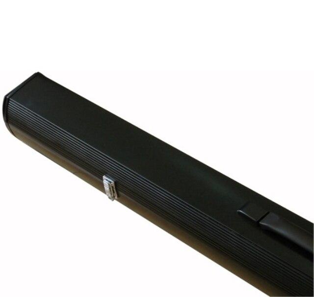 92 дюймов 16:9 белый тканевый Стекловолокно портативный напольный экран напольный проекционный экран вытяжной проектор экран - 3