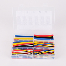 Heat Shrink Tubing 180 pcs 90mm 2:1 ratio 6 Size 5 color  Polyolefin Material sleeve Cable Wrap Kit