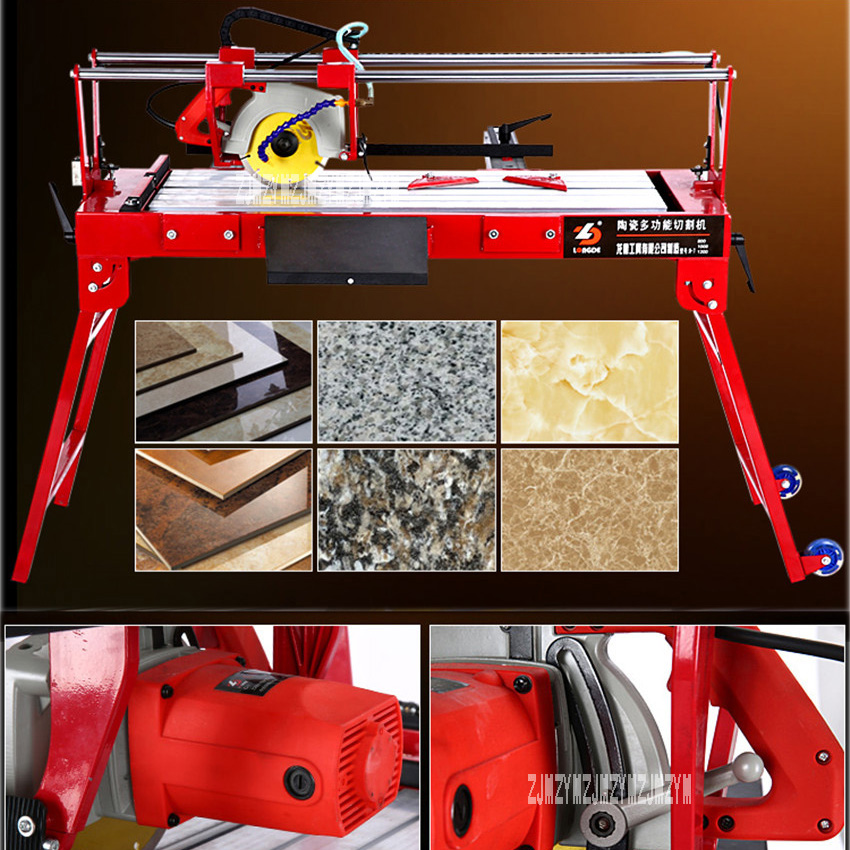 все цены на High quality D-7-800 Electric tile Saw cutting machine 220V high power 2300W high efficiency