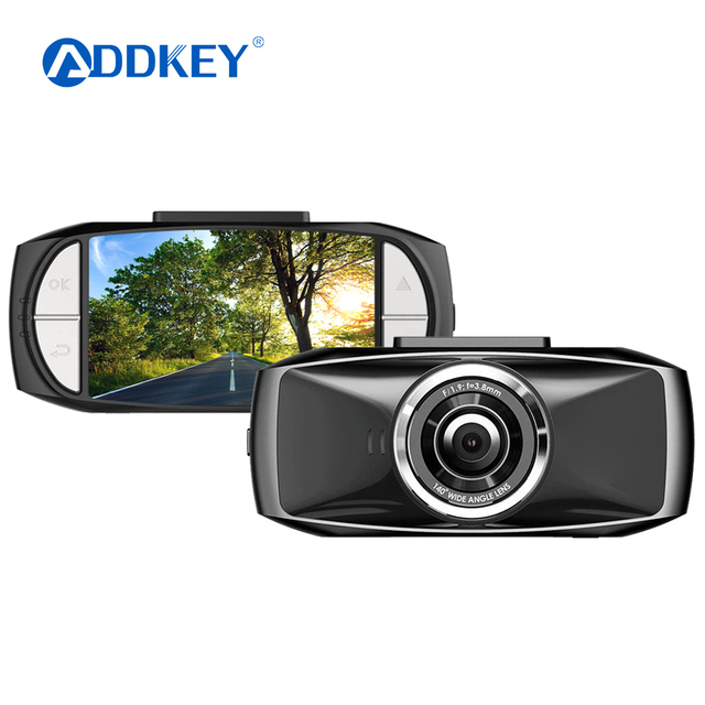 ADDKEY D086 Ambarella A7LA70 Car DVR Camera GPS with Speedcam Full HD 1080P dash cam super night vision Driving assistance dvrs