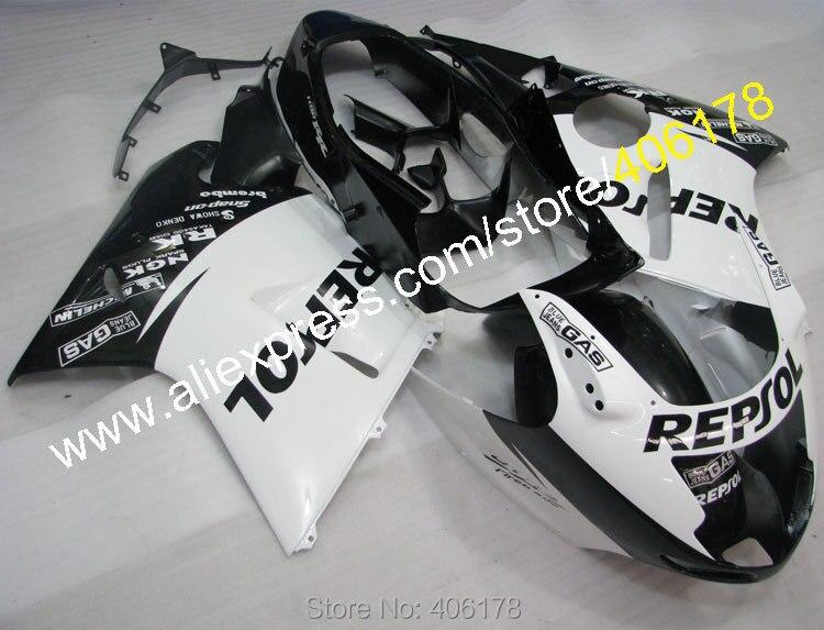 Hot Sales,96-07 CBR1100XX Fairing Kits For Honda 1996-2007 CBR1100 XX Blackbird Repsol Motorcycle Fairings (Injection molding)