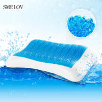 68*40 Big Silicone Gel Memory Foam slow rebound sleeping Bedding pillow Summer Ice Cool Orthopedic soft health care Neck Pillow