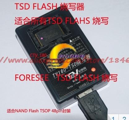 Купить с кэшбэком Free shipping TV160-TSD programmer (flat intelligent TV) NAND Flash (embedded memory) programmer
