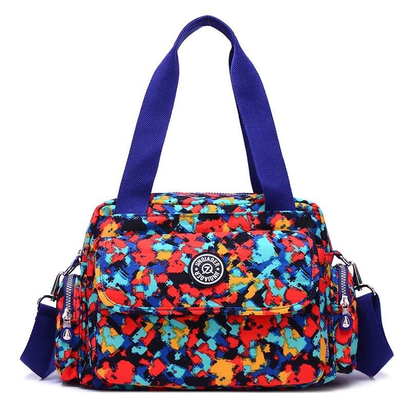 2019 Fashion Women Travel Bags Waterproof Shoulder Messenger Bags For Ladies Nylon Casual Crossbody Bags 16 Colors Handbags