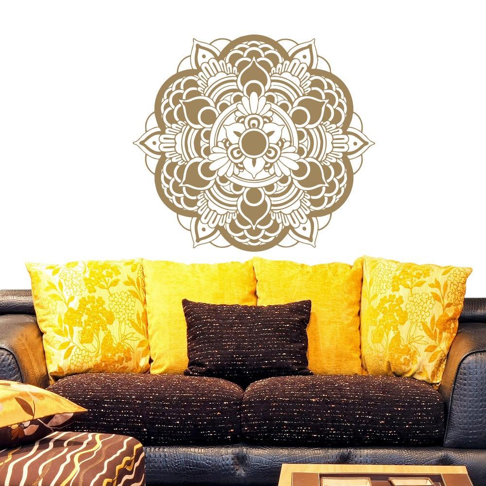 Beautiful Wall Decal In Mandala Flower Special Pattern Art Wall ...