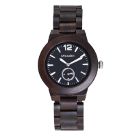 Wood Men's Watch Personality Creative Vintage Sandalwood Watches Business Quartz Wristwatches Free Shipping Sale