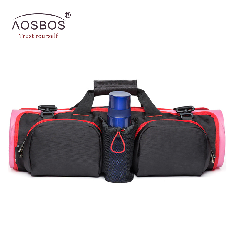 Aosbos 2019 스포츠 가방 다기능 요가 가방 여자를위한 대용량 체육관 가방 남자 어깨 방수 훈련 피트니스 가방