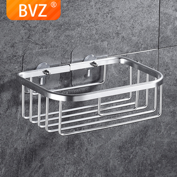 BVZ A Style Short Bathroom Accessories Shelf Holder  Space Aluminum Shower Shampoo Soap Cosmetic Shelves