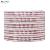 KELITCH High Quality Genuine Leather Classic Charm Cuff Bracelets Handmade Multilayers Crystal Seed Beads Adjustable Wrap Bijoux