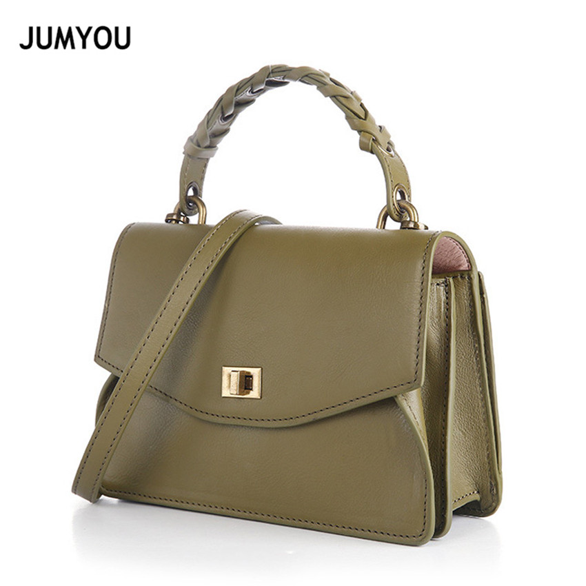 Genuine Leather Womens Crossbody Bag Female Soft Cow Leather Handbag Women Lock Small Real Leather Messenger Bag Lady Sac A MainGenuine Leather Womens Crossbody Bag Female Soft Cow Leather Handbag Women Lock Small Real Leather Messenger Bag Lady Sac A Main