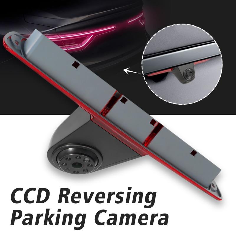 Feu de stop LED de caméra arrière de recul CCD de voiture pour Mercedes pour benz/Sprinter/VW/Crafter pour Volkswagen