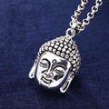 Pure Sterling Silver Fashion Buddha Pendant S990