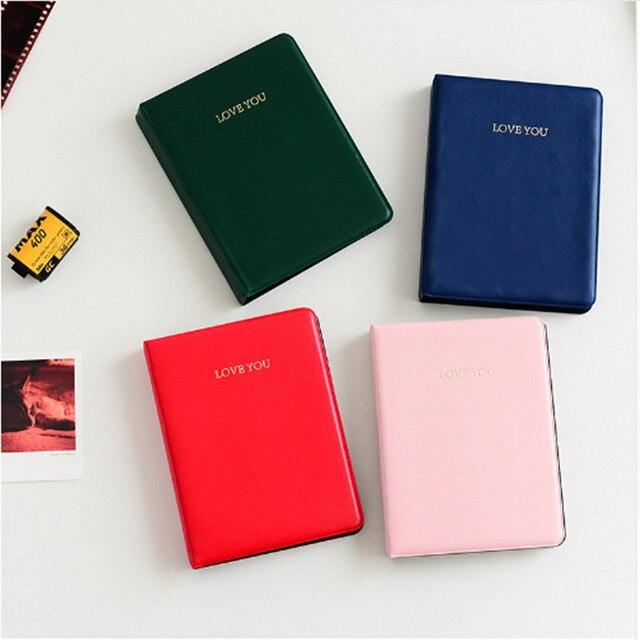 Polaroid Photo Album 64 Pockets Mini Instant Picture Case Storage For Fujifilm Fotografia Instax Mini Film 8 Korea Instax Album