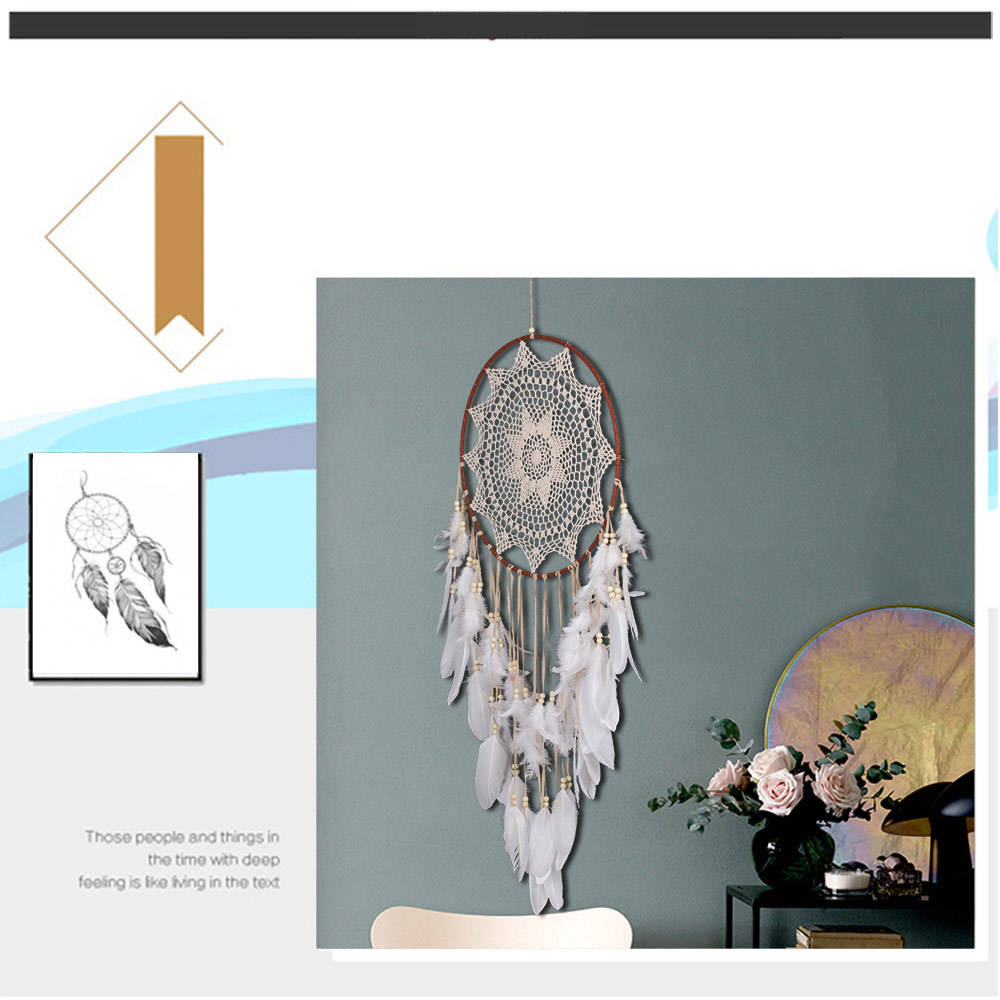 big dream catcher decor for home-nordic decoration home-kids room decoration-wind chimes-dream catchers hanging dreamcatcher new (9)