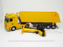 Kingtoy Detachable Remote Control Big Size 1:32 RC 6CH  heavy RC Truck with lights and sounds Car