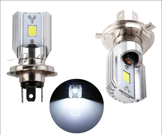 H4 H6 Led Motorcycle Headlight Bulbs COB Led 1000LM BA20D H/L Lamp Scooter ATV Moto Accessories Fog Lights For Suzuki