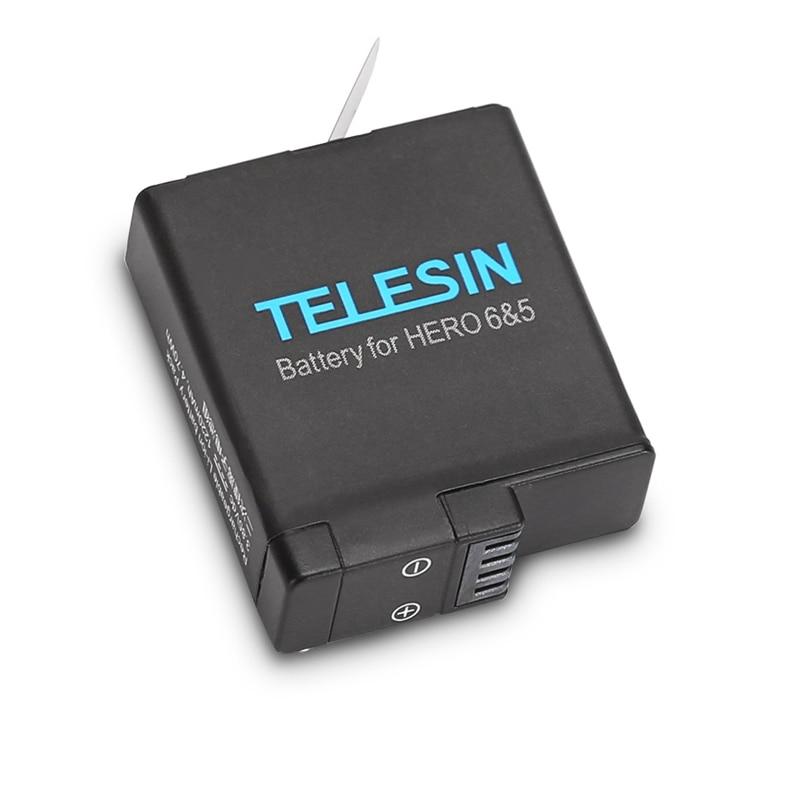 1pcs 3-way Battery Charger Charging Storage box + 2pcs 1220MAH AHDBT-501 Batteries For GoPro Hero 5 7 Black Hero 6 Camera (12)