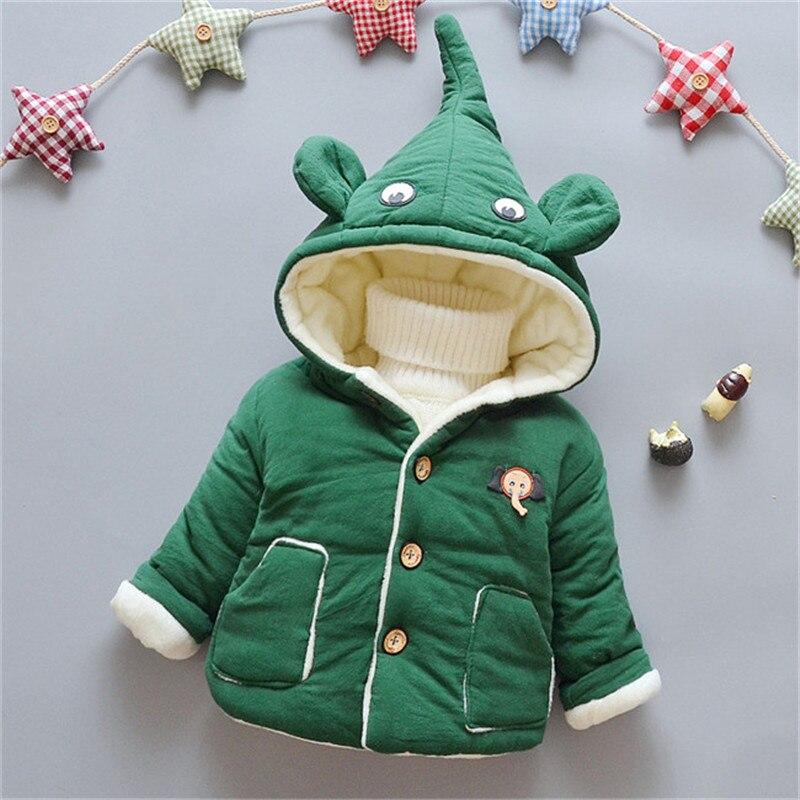 75c98d63d BibiCola bébé garçons coton manteaux infantile dessin animé vêtements  d'extérieur à capuche hiver épais polaire velours vestes toplancha snowsuit  vers le ...