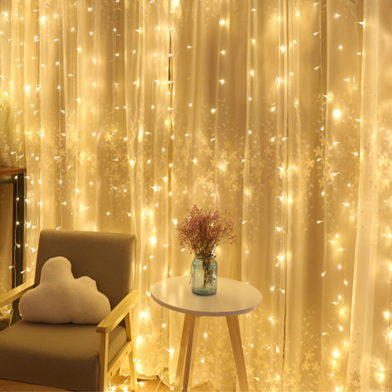 Fairy Lights Wedding Reception Ideas: 8 Mode Wedding Light String Remote LED Fairy Icicle Lights