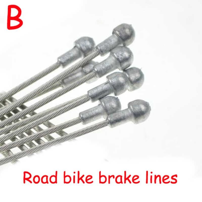 Rower szosowy MTB rower z ostrym kołem rowerowy przewód hamulcowy Shift Shifter Gear kabel hamulcowy zestawy rdzeń wewnętrzny drut stalowa linia prędkości SCX005