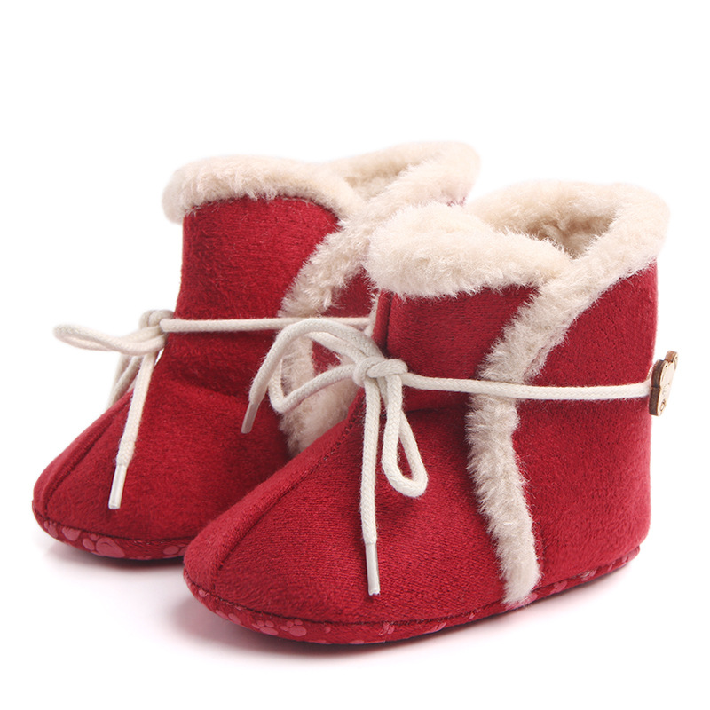 Female baby baby shoes non – slip warm baby boots baby shoes toddler shoes wholesale
