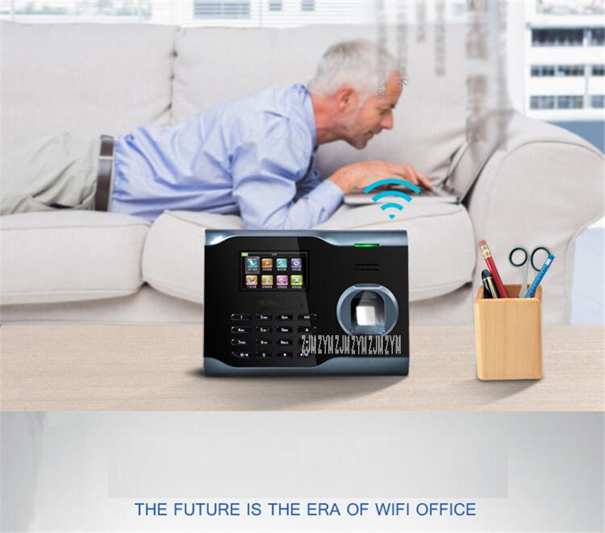 Wifi tcp ip biométrico de impressão digital