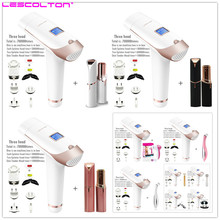 IPL Laser Epilator Handheld Laser Hair Removal Permanen 300000 Pulse Foton Peremajaan Kulit Hair Removal Machine