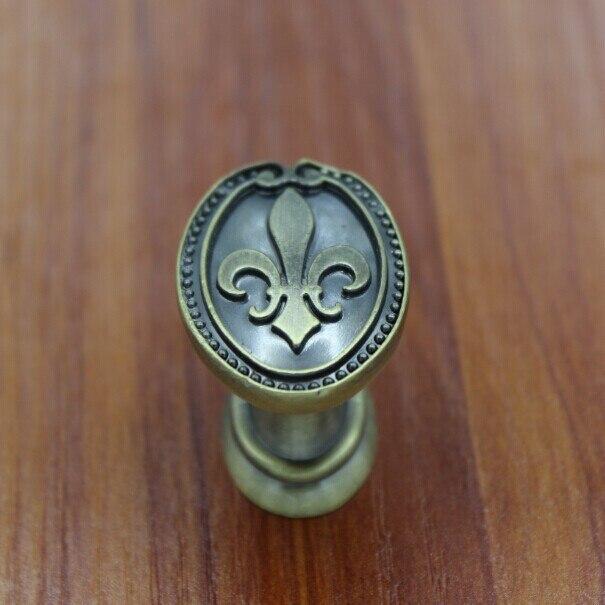 34mm küchenschrank knöpfe antiken schublade knöpfe Bronze zink ...