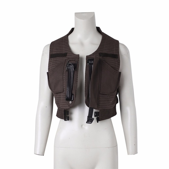 New Arrival Rogue One :A Star Wars Story Jyn Erso Vest Unisex Halloween Carnival Costume Cosplay