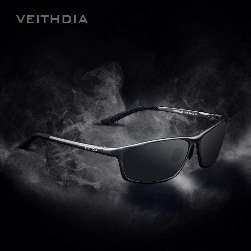 Óculos Polarizados dos homens Óculos de Sol Óculos de Esportes Ao Ar Livre  Óculos De Sol Óculos Acessórios de alumínio Azul Dos Homens de Condução  Espelho ... d51c0a4e34