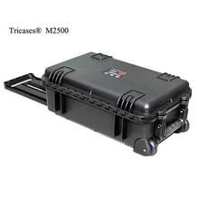 Горячая распродажа! M2500 Шанхай Tricases завод новый стиль водонепроницаемый PP жесткий кейс для оборудования с кубической пеной