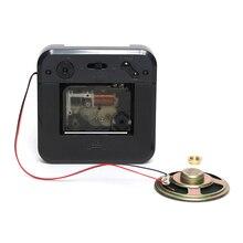 SKP Trigger movement with Music Chime Box and Horn Step Wall clock mechanism Clock Parts Melody Box DIY clock Kits