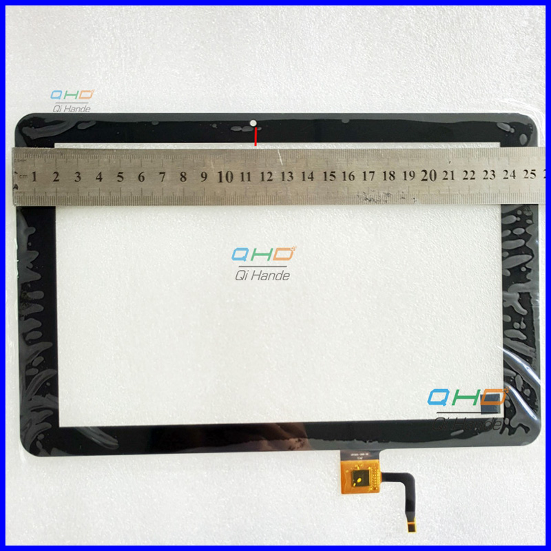 High Quality New For 10.1'' inch Explay sQuad 10.02 3g Touch Screen Digitizer Sensor Replacement ,255x165 mm, 115 mm from camera