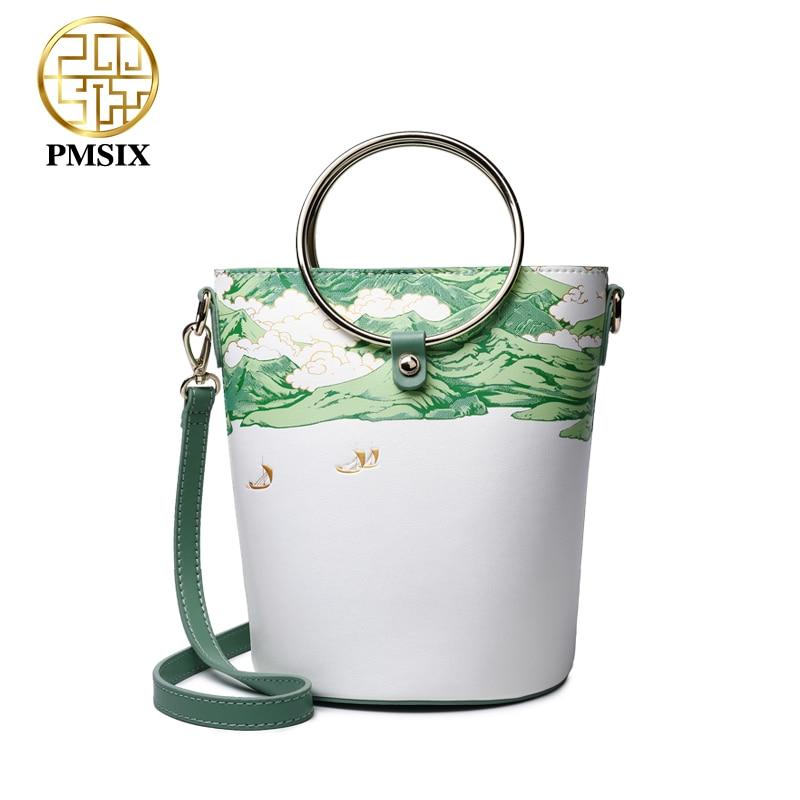 PMSIX luxury handbags women bags designer green small shoulder bag messenger bags High quality soft Feminina Bolsa стоимость