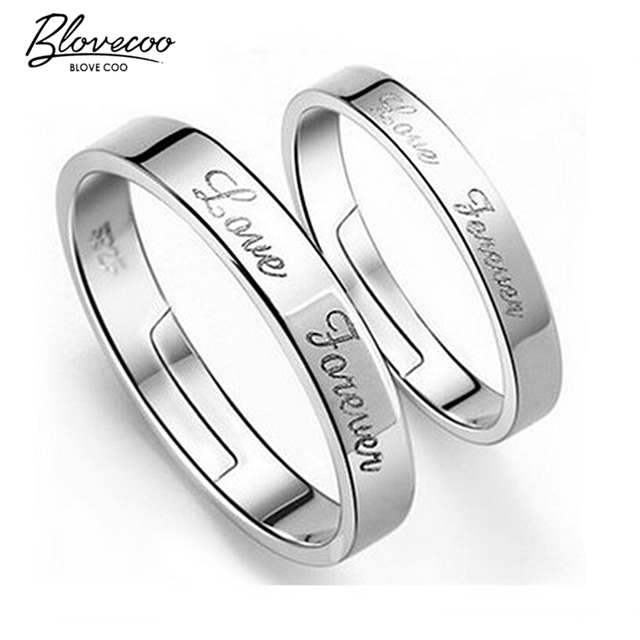 7b0a6ec88969 Silver ring opening couple of female models wild fashion jewelry cute retro  jewelry factory wholesale super
