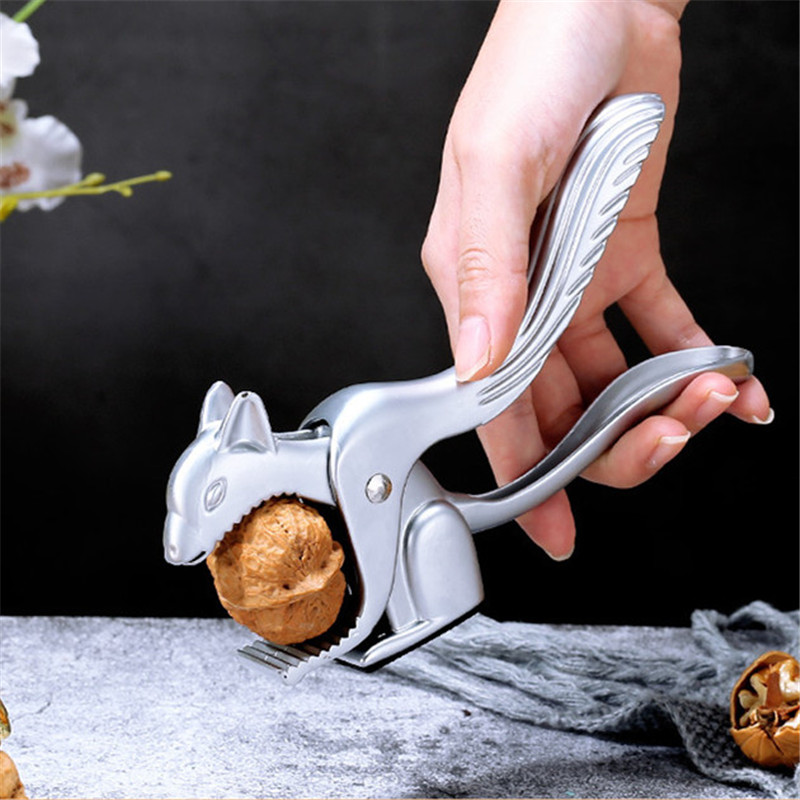 20pcs/lot Squirrel Shaped Walnut Clip Zinc Alloy Opener Kitchen Pliers Tool Nut Opener  Kitchen Tool Squirrel Walnut Clip CT0083