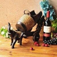 Дерево ремесел frame обладатель Кубка вина украшения дома бамбук винный шкаф бокал