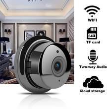 Ip камера видеонаблюдения с ночным видением wi fi 1080p