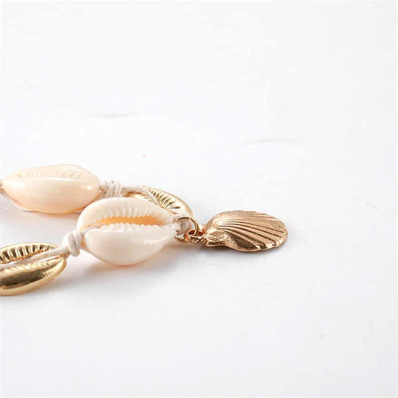 Bracelets de plage bohème Bracelets de cheville pour femmes Vintage corde perles brin bijoux cadeau accessoires pieds nus jambe cheville chaîne